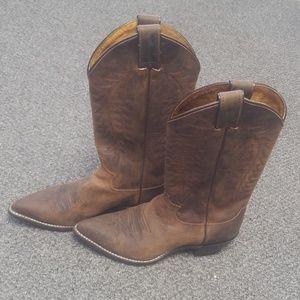 Justin cowboy boots size 6 1/2